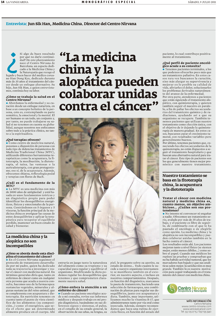 Jun Han la vanguardia